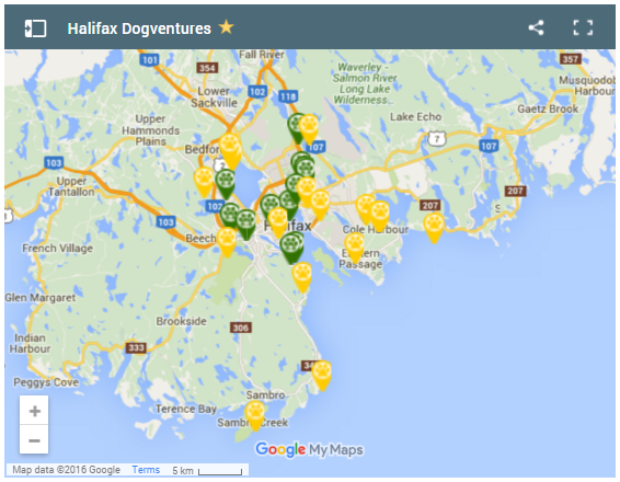 Halifax Dogventures Map - Screenshot
