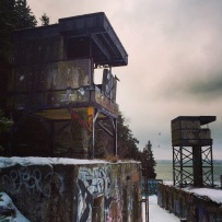 Sandwich Point Battery at York Redoubt