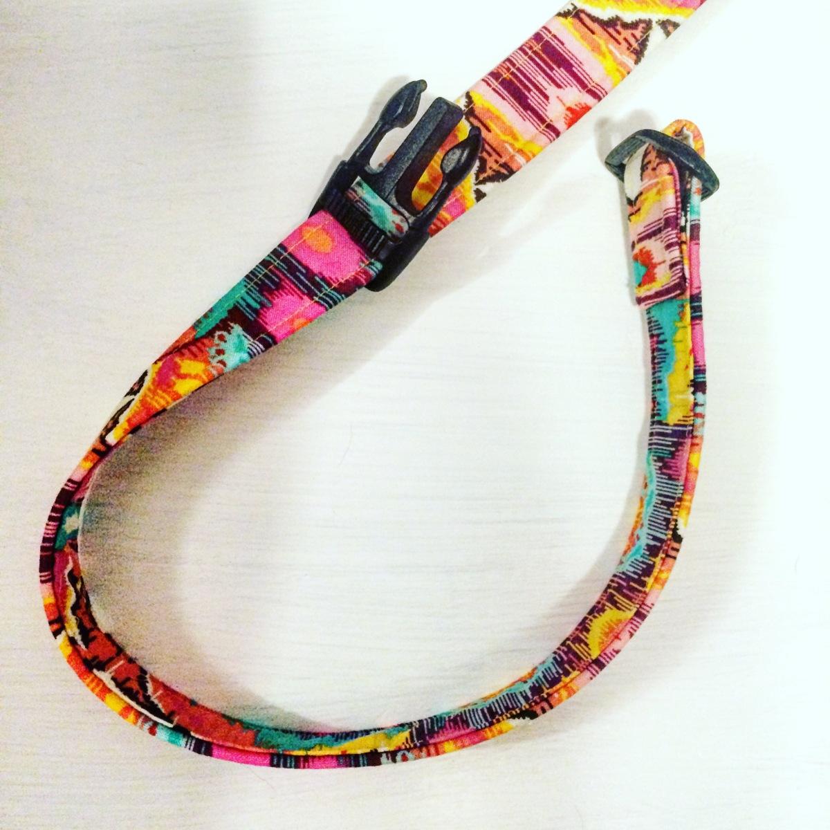 DIY Homemade Adjustable Fabric Dog Collar Tutorial