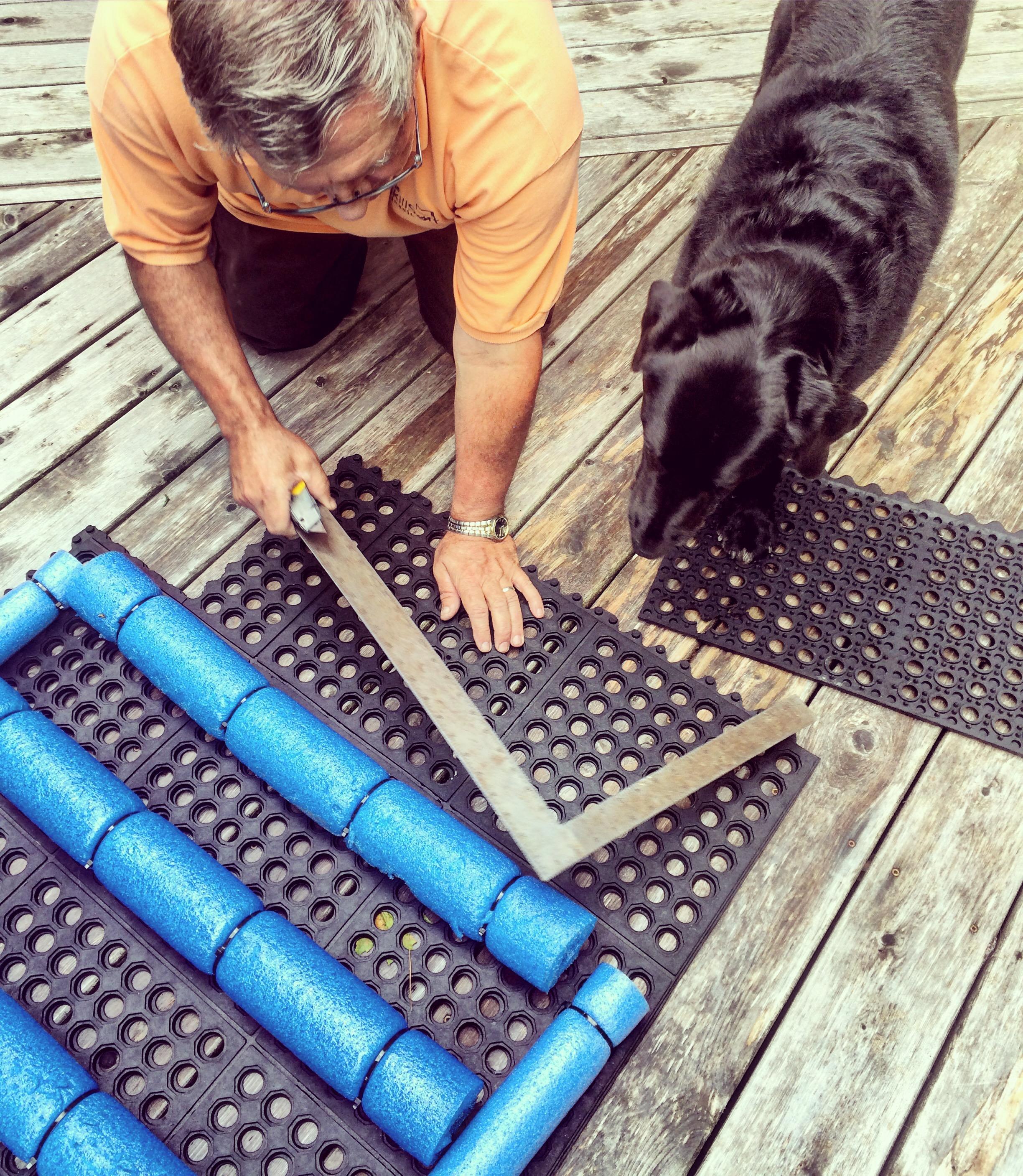 Diy Dock Amp Boat Ramp For Dogs Halifax Dogventures