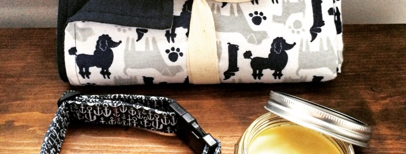 Super Simple DIY Dog Blanket, Homemade Paw Balm and DIY Adjustable Dog Collar Giveaway